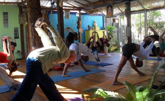 At Blue Garden Yoga Chiang Mai Everybody Is Welcome Who Wants To Practice In Our Beautiful Studio Surrounded By Plants And Trees